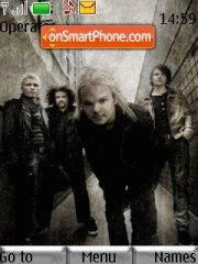 The Rasmus tema screenshot