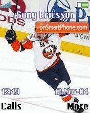 New York Islanders theme screenshot