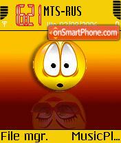 Emoticons es el tema de pantalla
