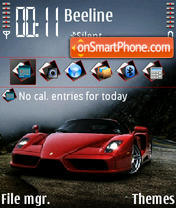 Ferrari Enzo 03 Theme-Screenshot