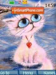 Cat Love theme screenshot