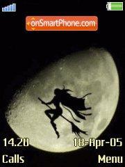 Witch theme screenshot