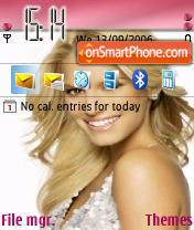 Jessica Simpson 01 theme screenshot