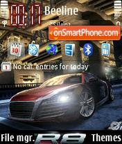 Nfs Carbon Audi 8 - 2 es el tema de pantalla
