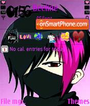 Скриншот темы Emo boy