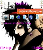 Emo music theme screenshot
