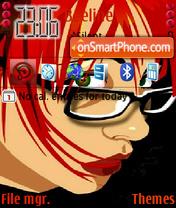 Capture d'écran The business woman thème
