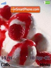 Raspberries es el tema de pantalla