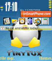 Tiny Tux theme screenshot