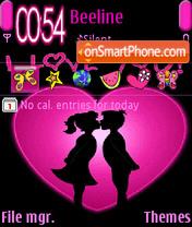 Скриншот темы Love Is
