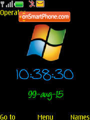 Windows Clock Theme-Screenshot