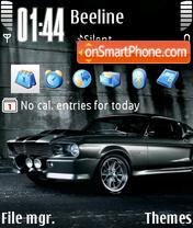 Ford Mustang gt 500 theme screenshot