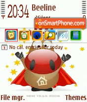 Internet Bull theme screenshot
