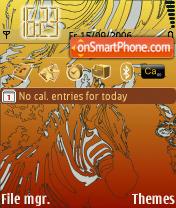 Zebra theme screenshot