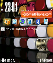 Cube Theme theme screenshot