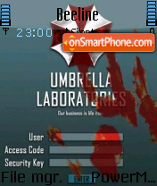 Umbrella 01 theme screenshot