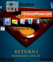 Superman Returns es el tema de pantalla