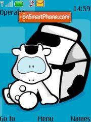 Cow theme screenshot