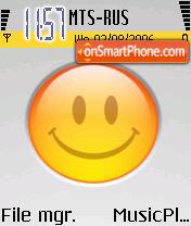 Smiley Orange es el tema de pantalla
