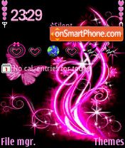 Pinkblack2 theme screenshot