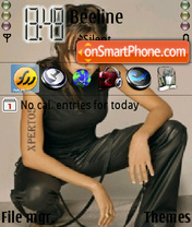 Anjelina Joli theme screenshot
