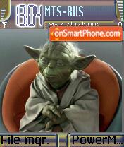 Yoda es el tema de pantalla