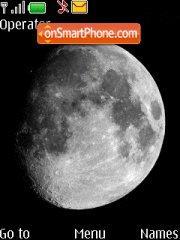 Скриншот темы The Moon