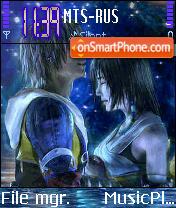 Final Fantasy New theme screenshot