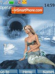 Mermaid theme screenshot