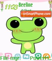 Froggie es el tema de pantalla