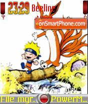 Naruto And Kyuubi 01 theme screenshot