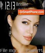 Angelina V3 es el tema de pantalla