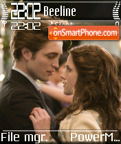 Dance With Me theme screenshot