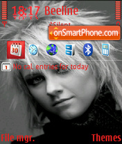 Lena Ranetki theme screenshot