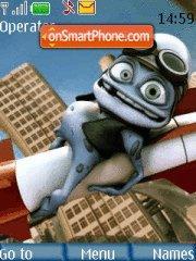Скриншот темы Crazy Frog