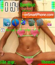 Green Bikini theme screenshot