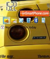 Fiat Coupe theme screenshot