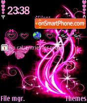 Скриншот темы Pinkblack