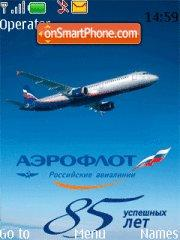 Aeroflot theme screenshot