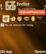 Twister theme screenshot