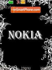 Nokia Black tema screenshot