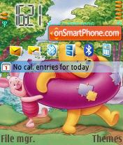 Скриншот темы Winnie 2006