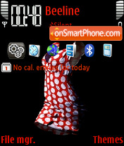 Female dress es el tema de pantalla