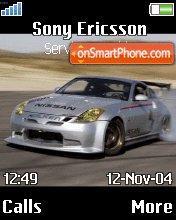 Nissan350z es el tema de pantalla