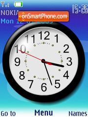 Nokia Clock SWF 01 theme screenshot