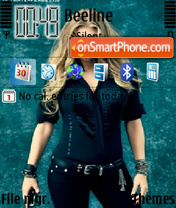 Fergie theme screenshot
