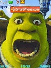 Скриншот темы Shrek