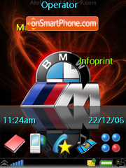 Bmw theme screenshot