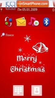 Merry Christmas 08 es el tema de pantalla
