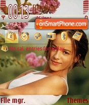 Alizee v2 theme screenshot